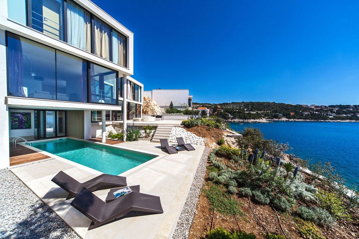 maison de r ve en bord de mer terrasse maison maison fantaisiste et terrasses. Black Bedroom Furniture Sets. Home Design Ideas