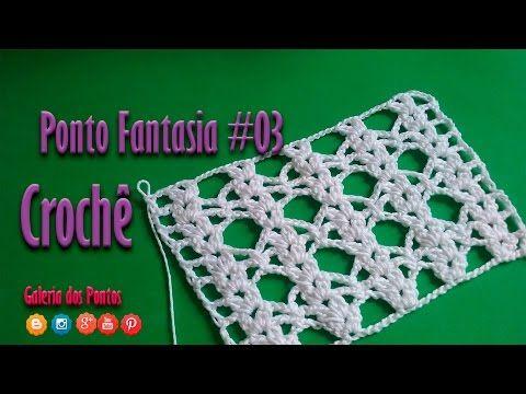 Blusa em Croché Selena Gomez - Aula 4 - Ponto Fantasia 1 - YouTube
