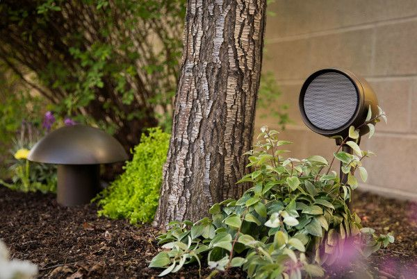 Control4 Unveils Triad Landscape Speakers Outdoor Speakers Control4 Outdoor Speaker System
