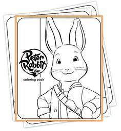 Cbeebies Printables Free Google Search Rabbit Colors Peter Rabbit Party Peter Rabbit