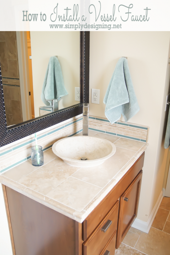 pin by linda toomey on how to install a vessel sink pinterest rh pinterest com