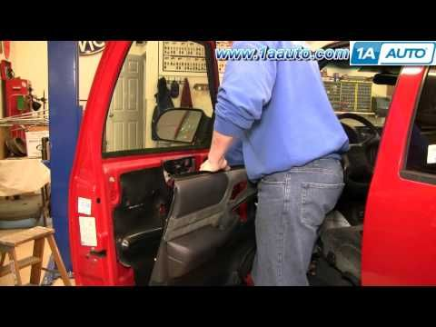 1a Auto Shows You How To Remove Or Replace The Interior Door Panel