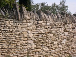 Diy Home Defenses Building A Stone Wall Without Mortar