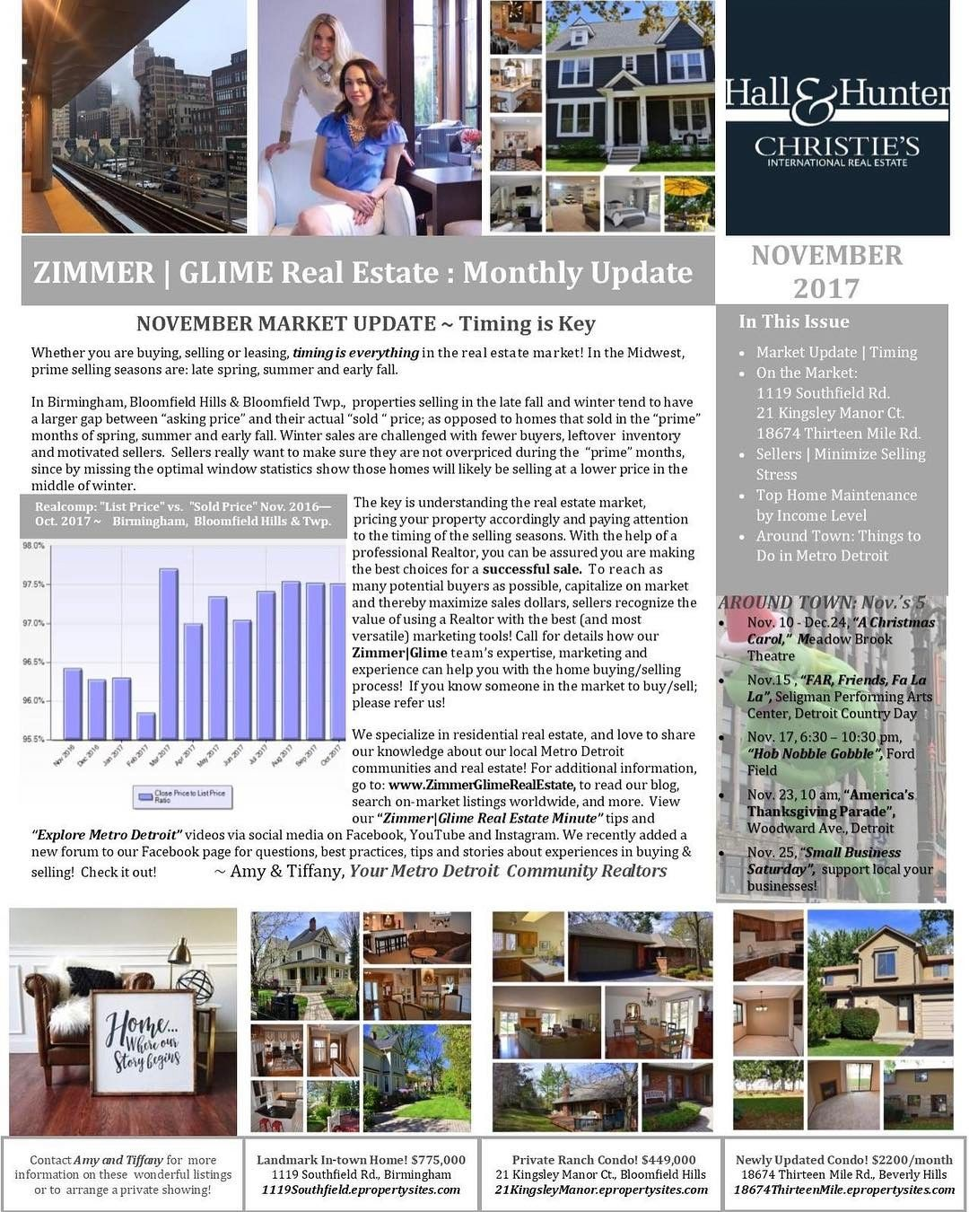 In P  Of Our November ZimmerGlime Real Estate Newsletter Learn