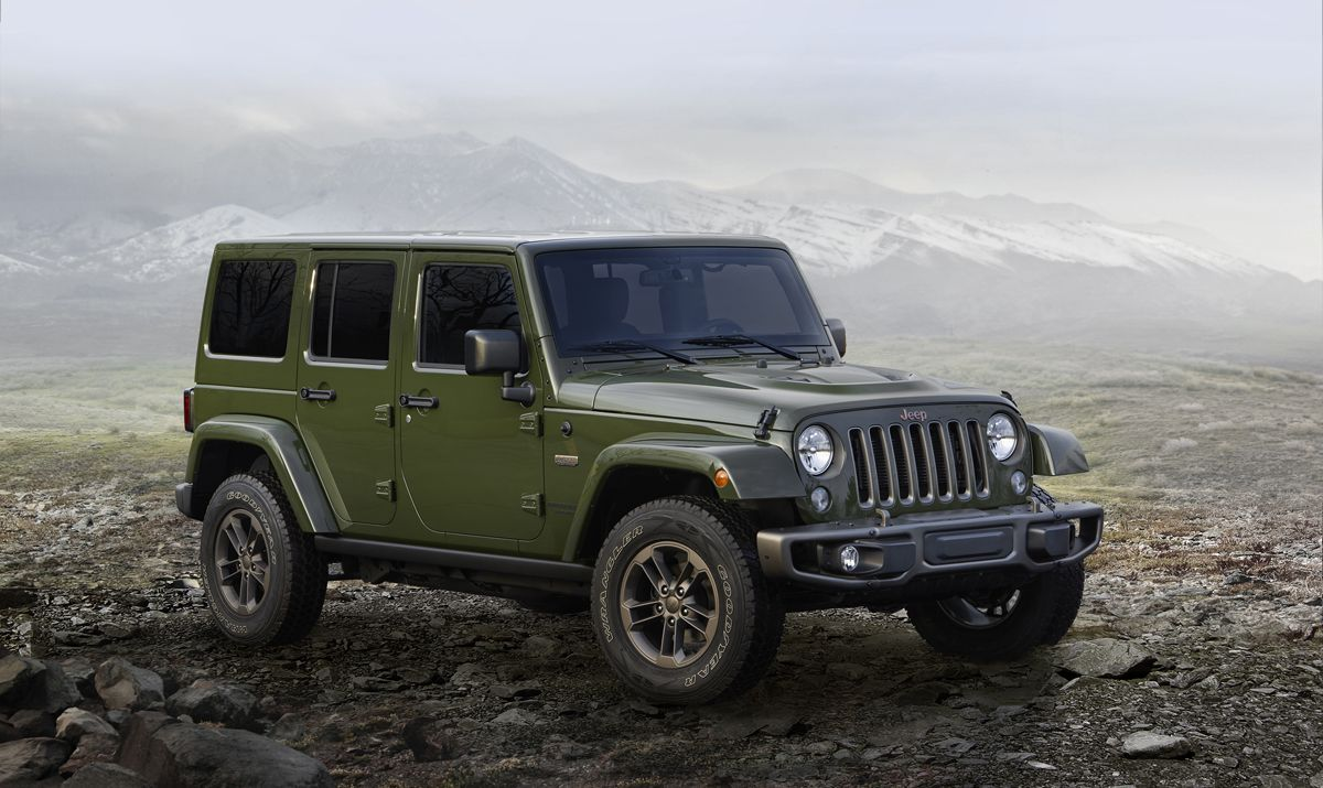 Celebrate 75 Years With The Jeep Wrangler And Custom Wheels