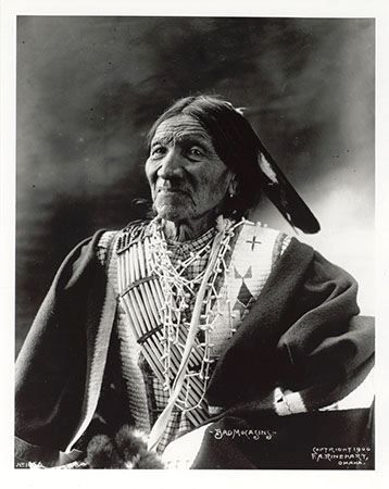 Bad Mocassin - Oglala - 1900