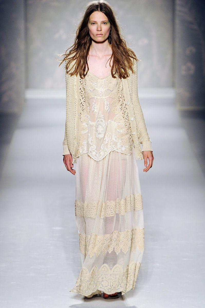 Cool Chic Style Fashion: ALBERTA FERRETTI SPRING 2011