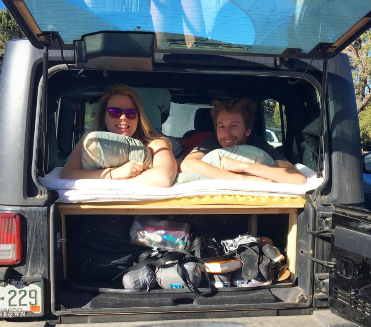Do You Own A Jeep Wrangler Jku And Want To Step Up Your Car Camping Game A Couple Notches Check Out Th Jeep Wrangler Camping Jeep Camping Jeep Wrangler Camper