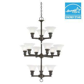 12-light in Heirloom Bronze  39064BLE-782