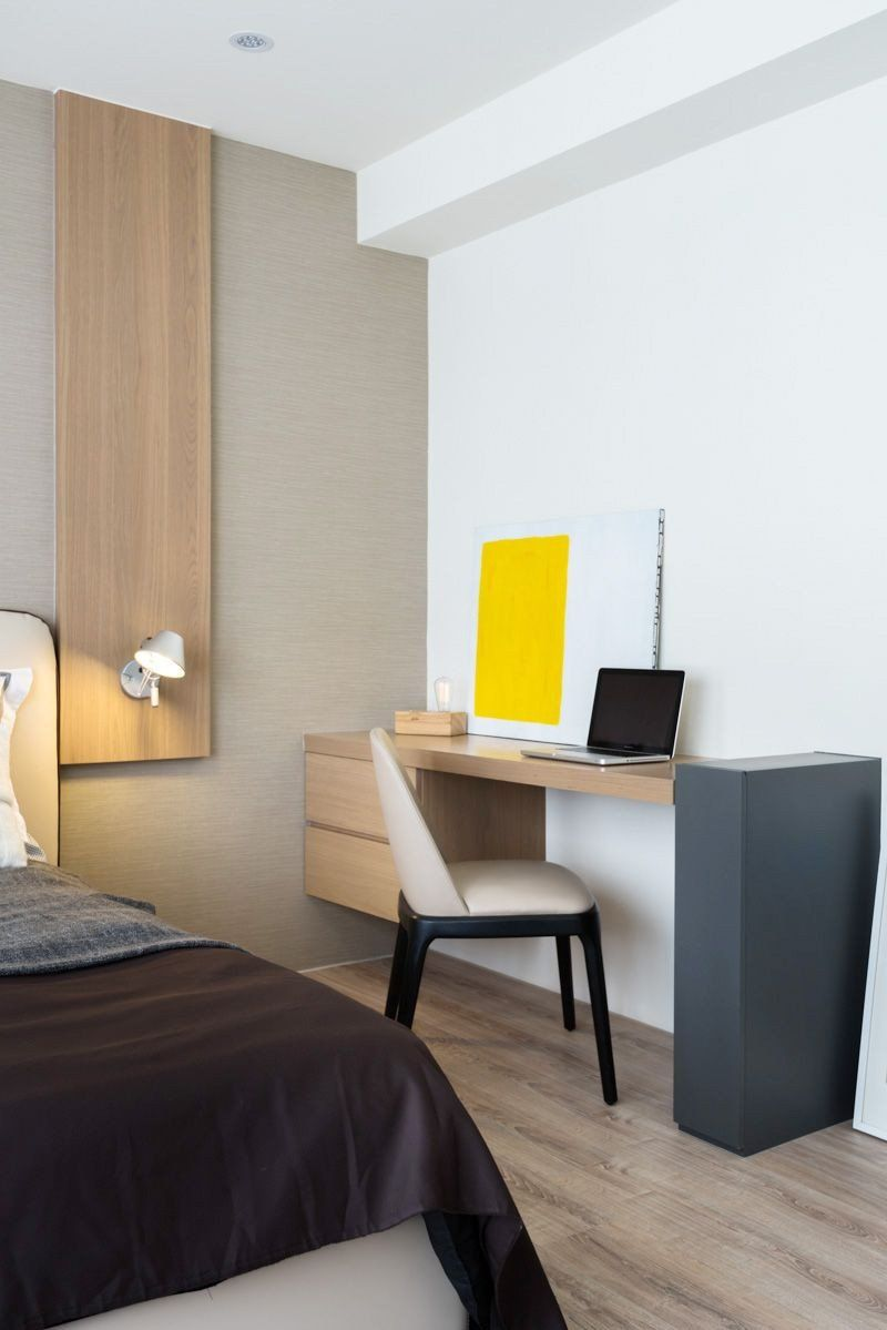 Hotel Room Decoration Ideas Unique Z Axis Design Taichung Simple Life On Behance In 2020 Small Hotel Room Hotel Bedroom Design