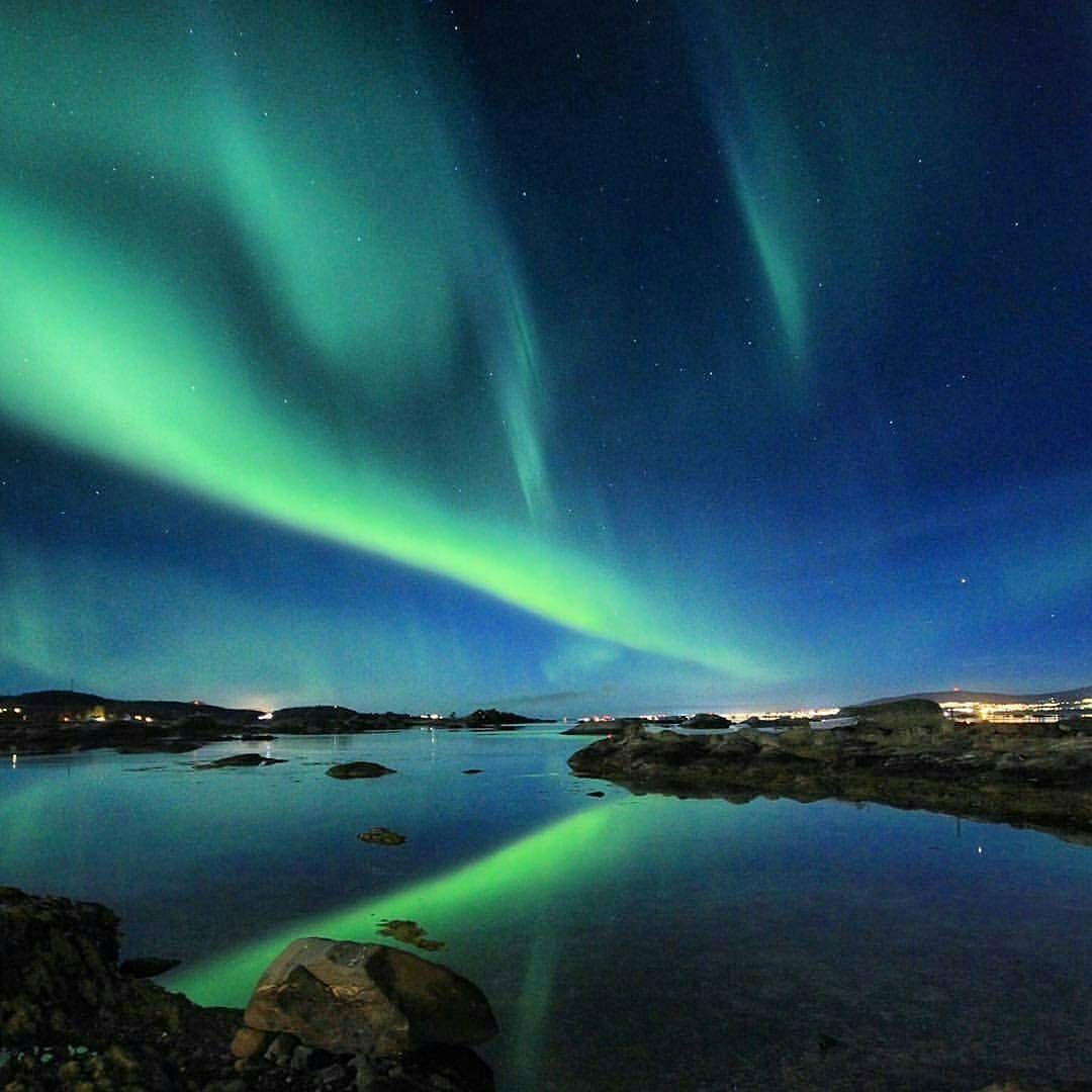 شبكة أجواء ظاهرة الغسق كل خمسه وعشرين عام في سماء النرويج M48e G S Chasers Natural Landmarks Northern Lights Landmarks