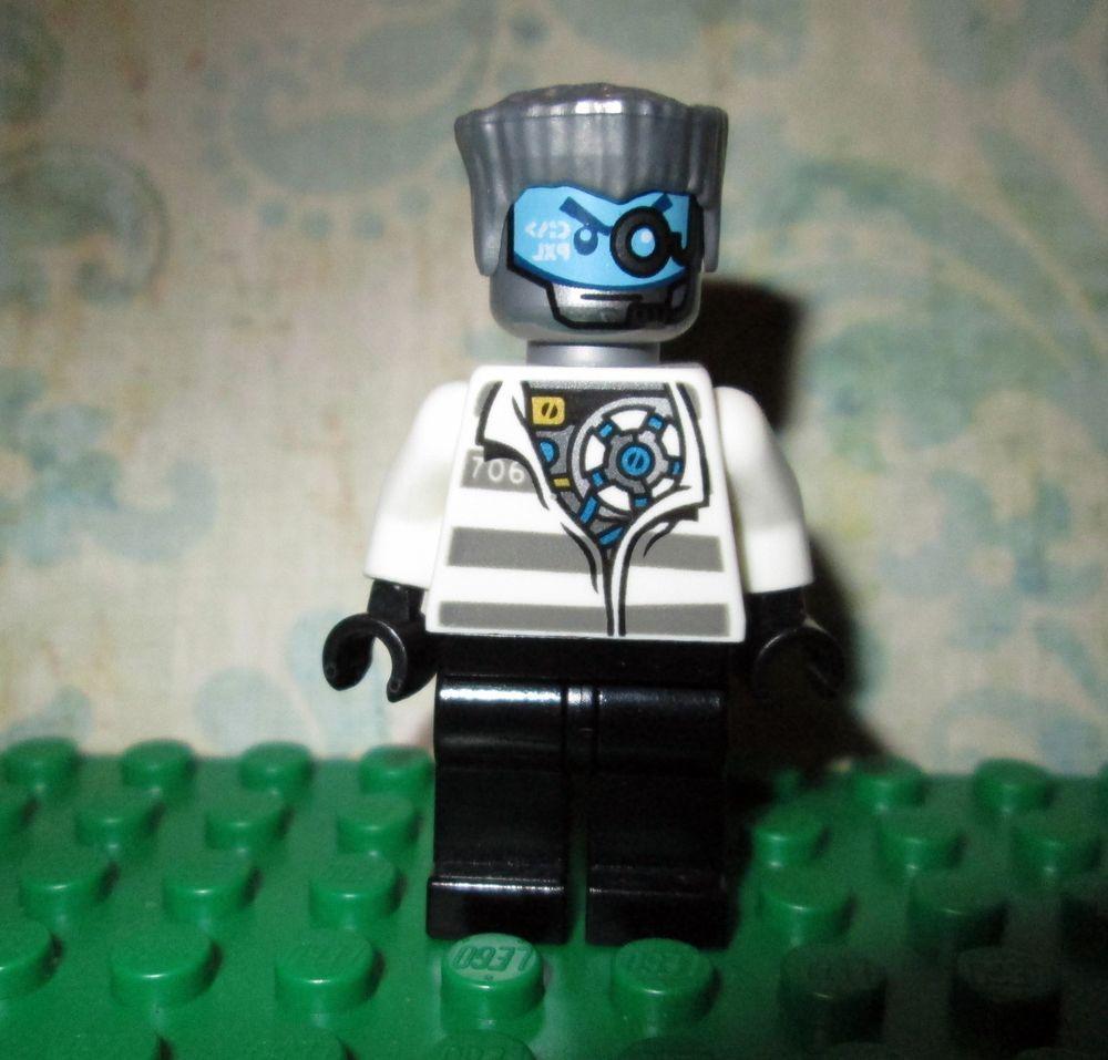 LEGO® Ninjago Prison Zane Minifigure Loose 70591
