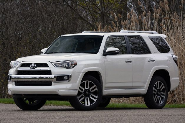 2017 Toyota 4runner Limited Review Autoblog