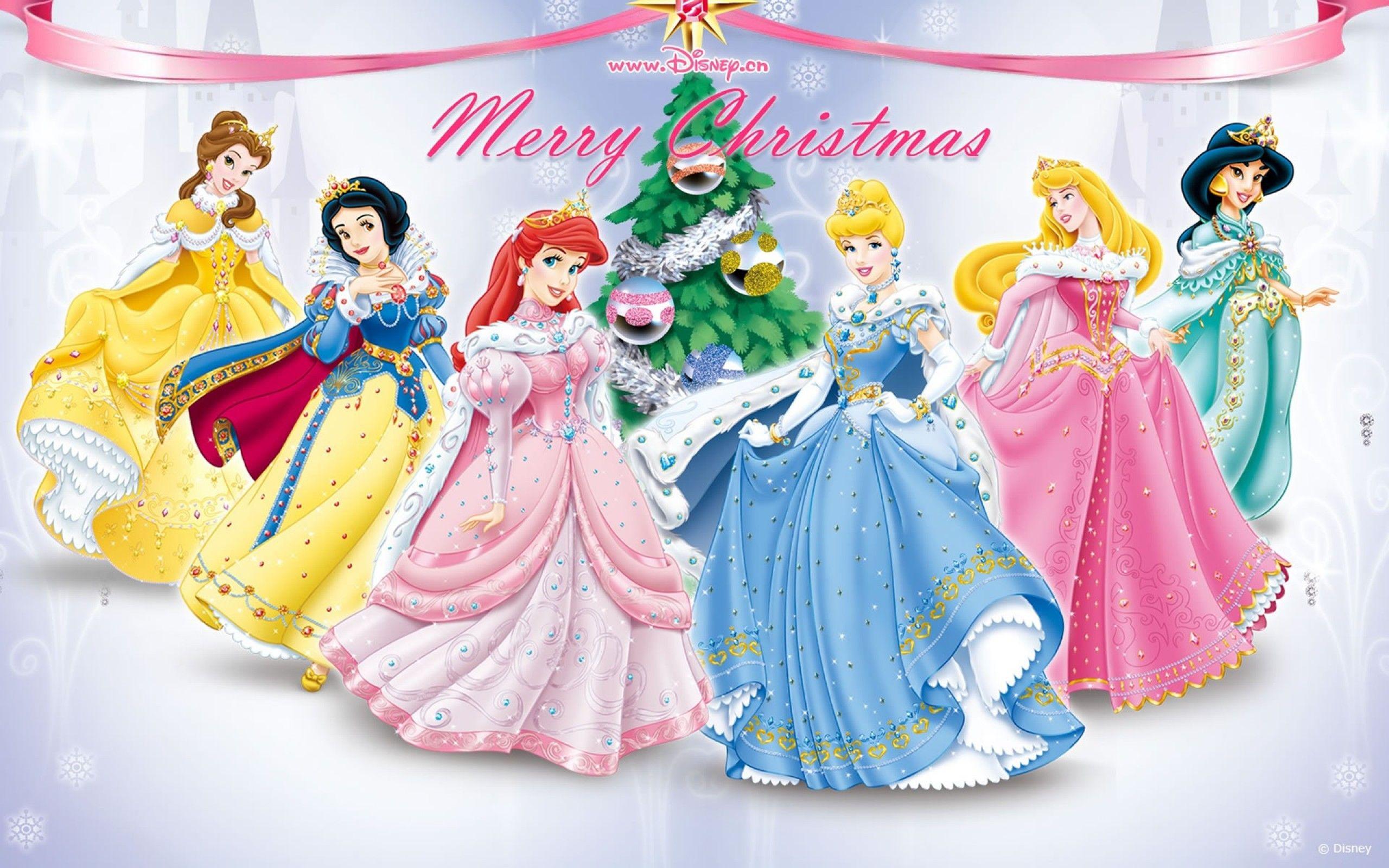 fondo-feliz-navidad-princesas-disney.jpg (2560×1600)