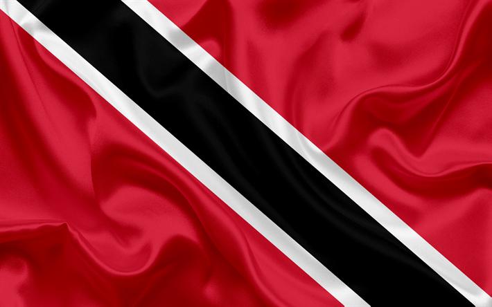 Download Wallpapers Flag Of Trinidad And Tobago National Flag Central America National Symbols Besthqwallpapers Com Trinidad And Tobago Flag Trinidad Trinidad Flag
