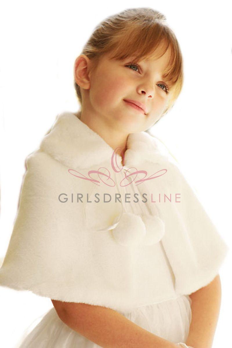 Faux Fur Stole (Infant Size)