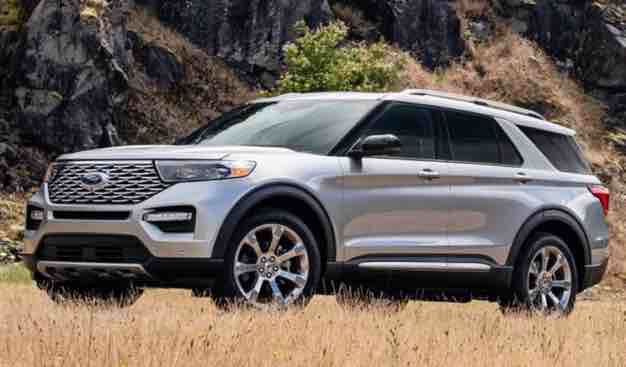 2021 Ford Explorer Platinum Colors Ford explorer, Ford