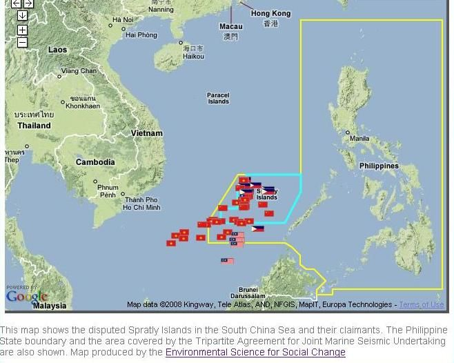 Spratlys Island Map And Share Photo Manila Philippines To Seek Help Of Allies On Spratlys Case Topix Island Map Manila Philippines