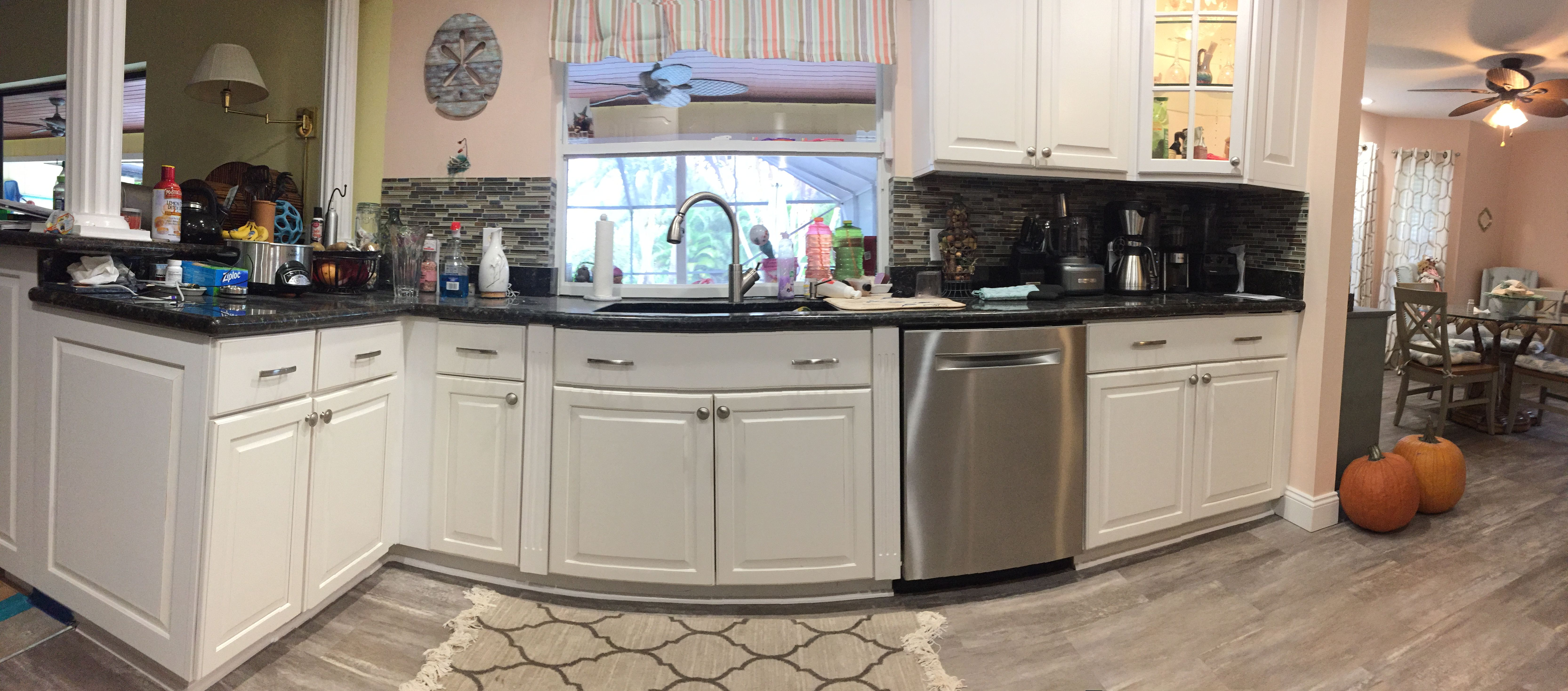 Just Finished These Kitchen Cabinets Located In Jensen Beach Kitchen Cabinets Painting Kitchen Cabinets Refinishing Cabinets