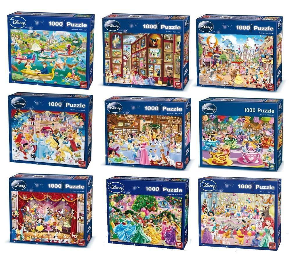 Disney 1000 Piece Jigsaw Puzzles