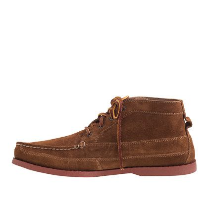 for J.Crew suede chukka boots