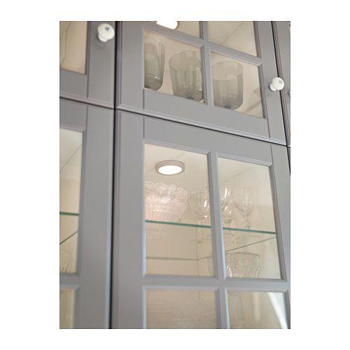 BODBYN Drzwi szklane, szary Doors, Kitchens and Interiors - ikea sideboard küche