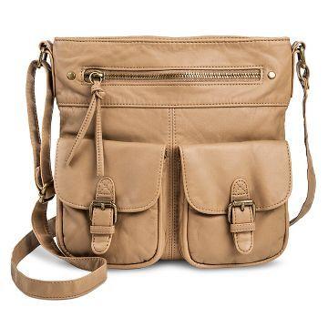 Women's Faux Leather Mini Crossbody Handbag - Mossimo Supply Co.™