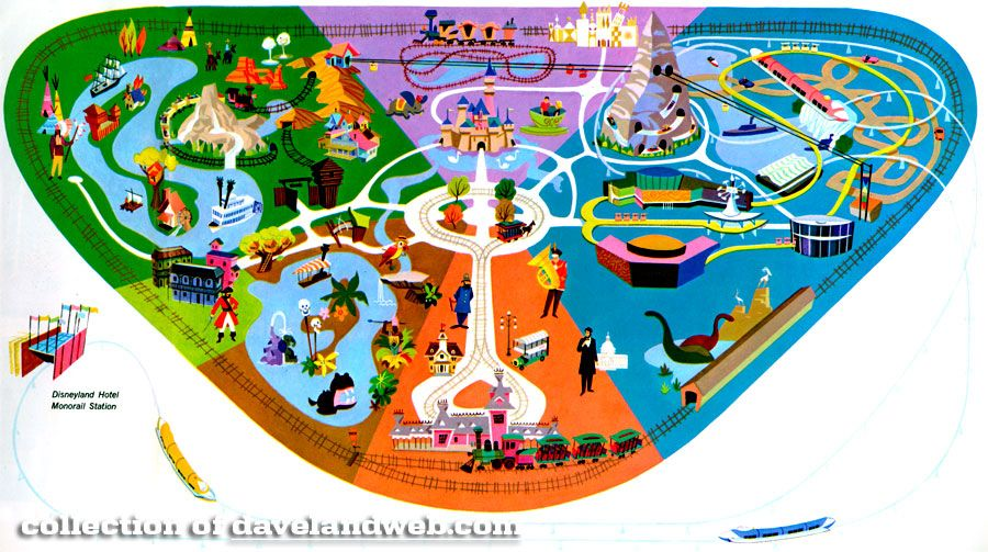 Pin by catherine madrid on nursery pinterest disneyland map the maps describe the history of the park as attractions come print park map publicscrutiny Images