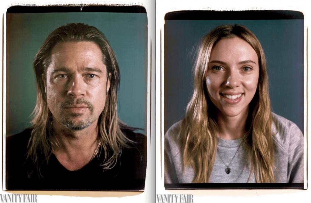 Vanity fair celebrity photos without makeup