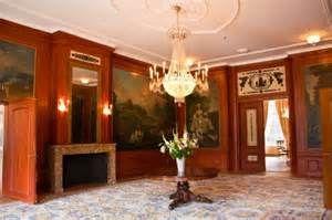 Een fraaie ruimte in kasteel Groeneveld. Ook het interieur mocht zo ...