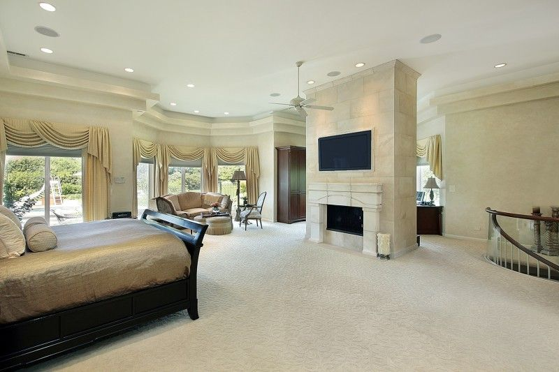 Beautiful Master Bedrooms With Fireplaces Luxurious Bedrooms