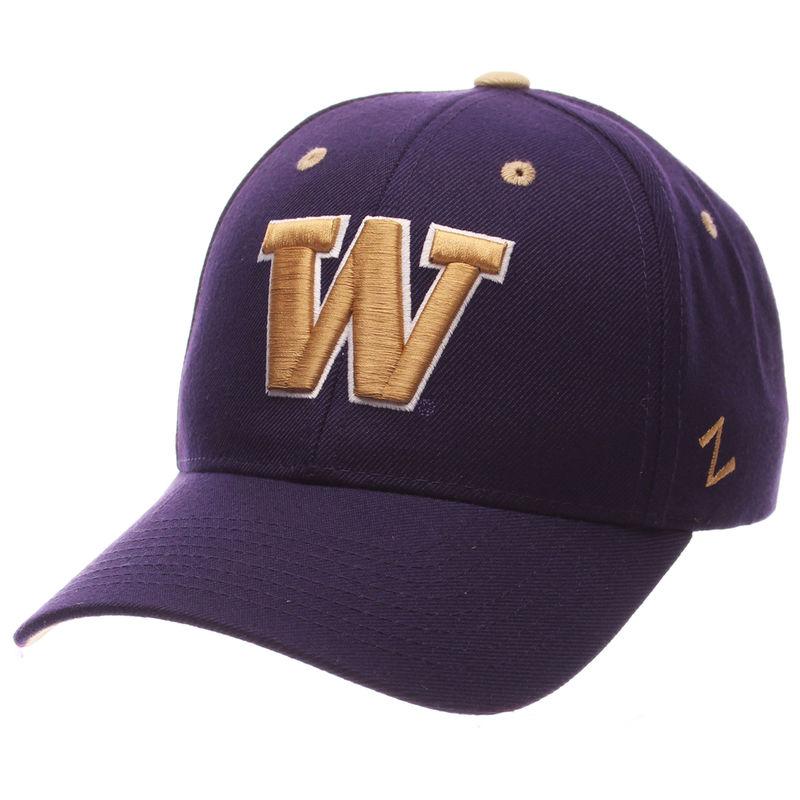 more photos bdf15 d1ef0 Washington Huskies Zephyr Competitor Structured Adjustable Hat - Purple
