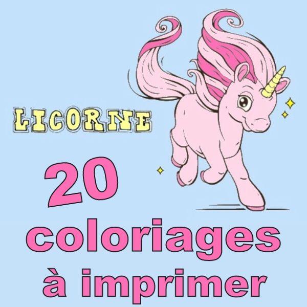 Coloriage Licorne 20 Modeles A Imprimer Gratuitement Atelier