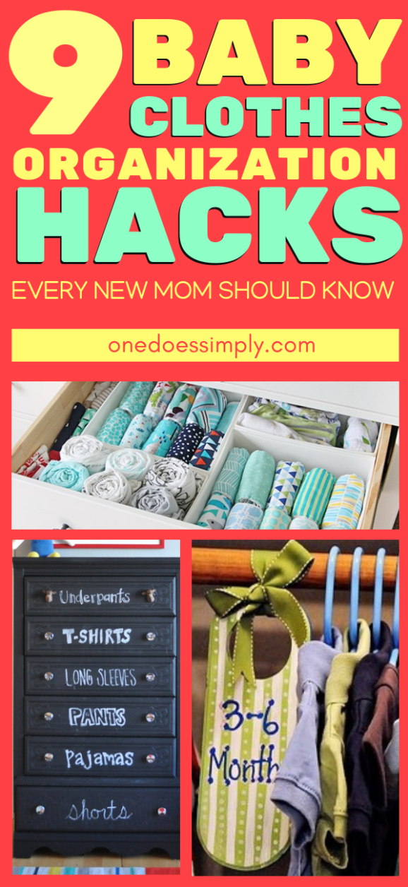 9 Genius Baby Clothes Organization Hacks Every New Mom Should Know is part of Organization Hacks Kids - Baby is small  But they have A  LOT  OF  CLOTHES  I get it! I know how it feels to organize an abundance collection of baby clothes  And unless you are a brand new mom who hasn't experienced giving a baby a shower, you knew that organizing baby clothes is not only about stacking it inside … 9 Genius Baby Clothes Organization Hacks Every New Mom Should KnowRead More »