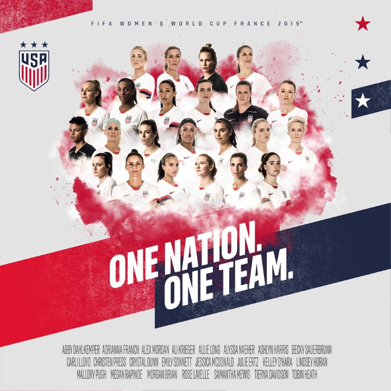 U S  Soccer WNT on | USA, USA! | World cup teams, Women's