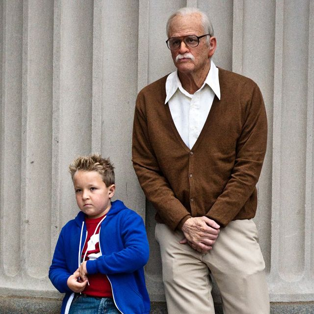 Jackass Presents: Bad Grandpa, A Film Featuring Johnny Knoxville as a Grandfather Traveling America With His Grandson