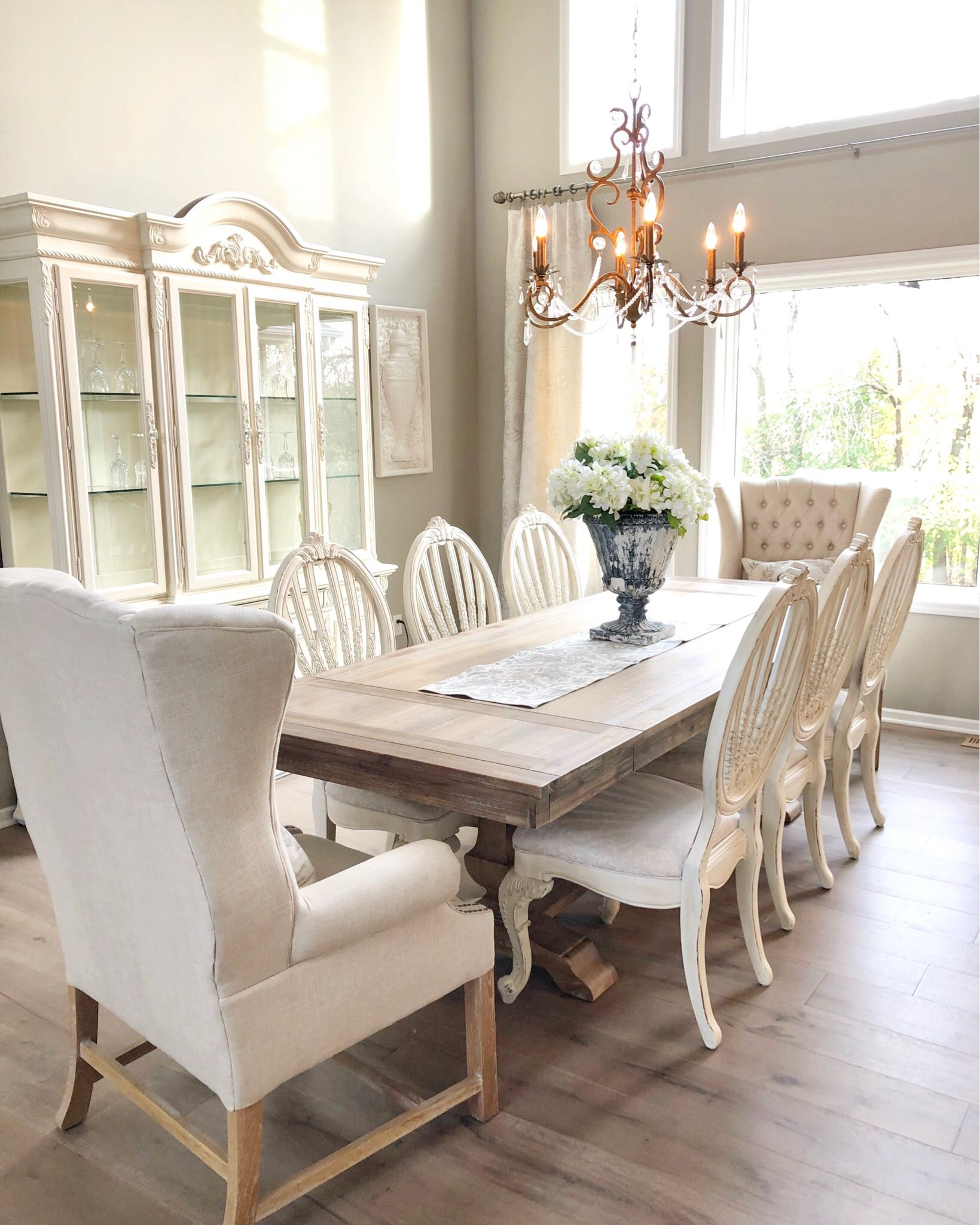 Pin by Styled with Lace on Dinning Spaces | French country ...