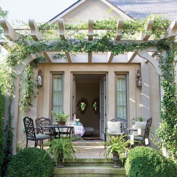 French Cottage Book - The Cottage Journal in 2020 | Deck with pergola. Pergola patio. Pergola shade