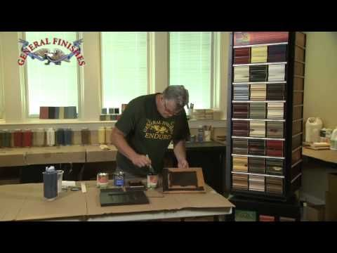 How to Paint Kitchen Cabinets with Milk Paint | General ...