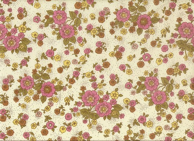 Flower Vintage Floral Pattern | Delicate Pink Flower Pattern Vintage Textile | Flickr - Photo Sharing!