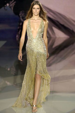Versace Spring 2006 Ready-to-Wear Fashion Show - Elena Baguci