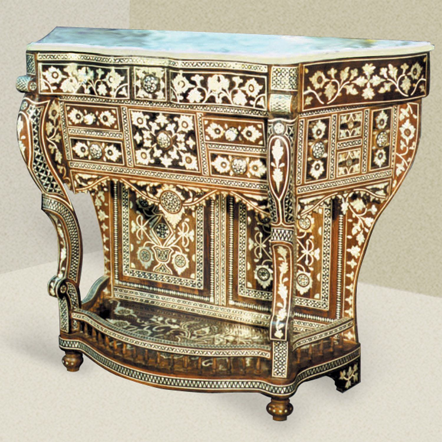 Wonderful Moroccan Style Console Table