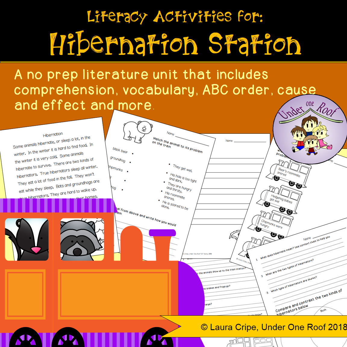 Hibernation Station A Literature Unit