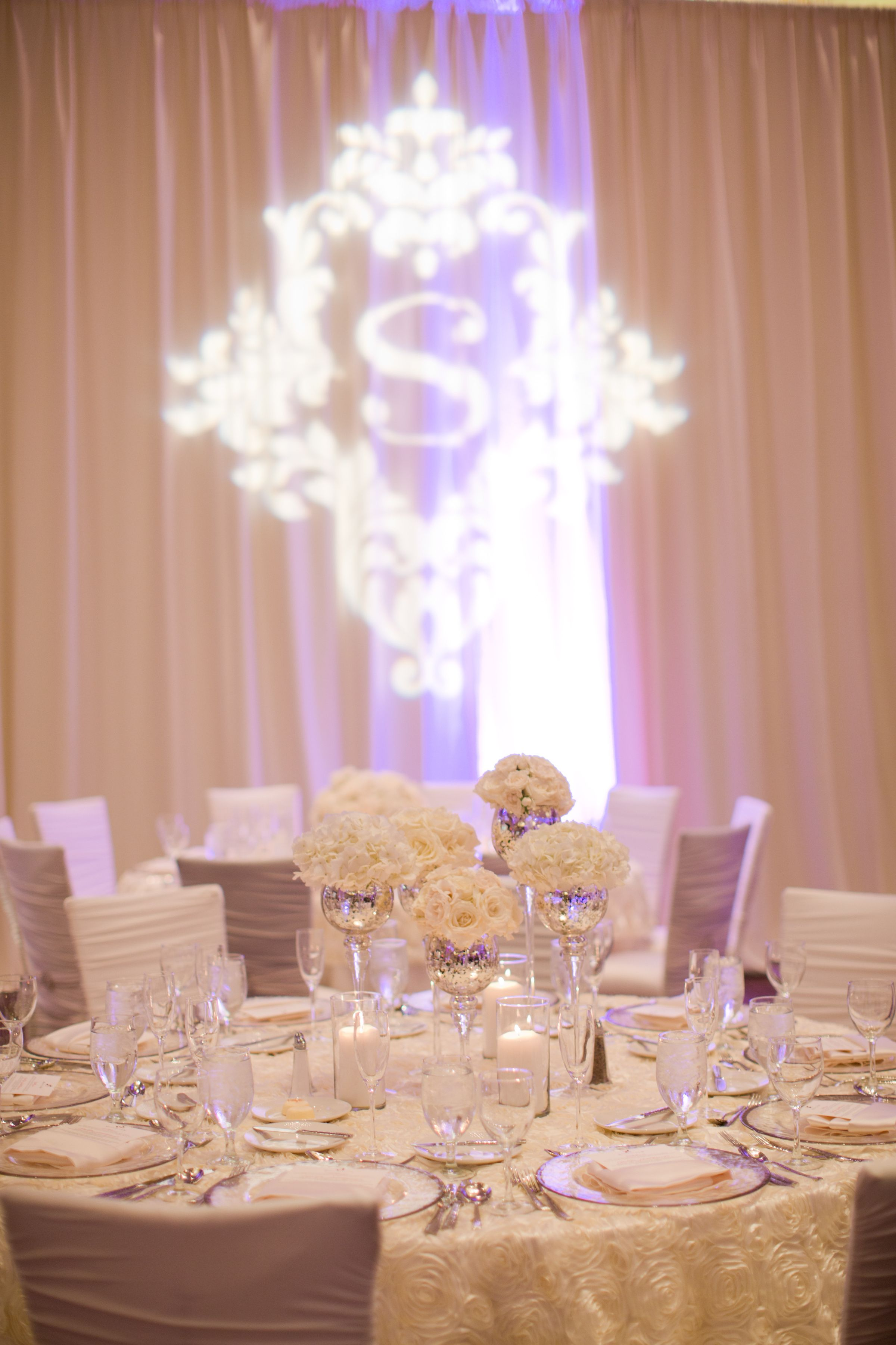 Gobo By Beyond For This Amazing Wedding Reception At Dallas Omni