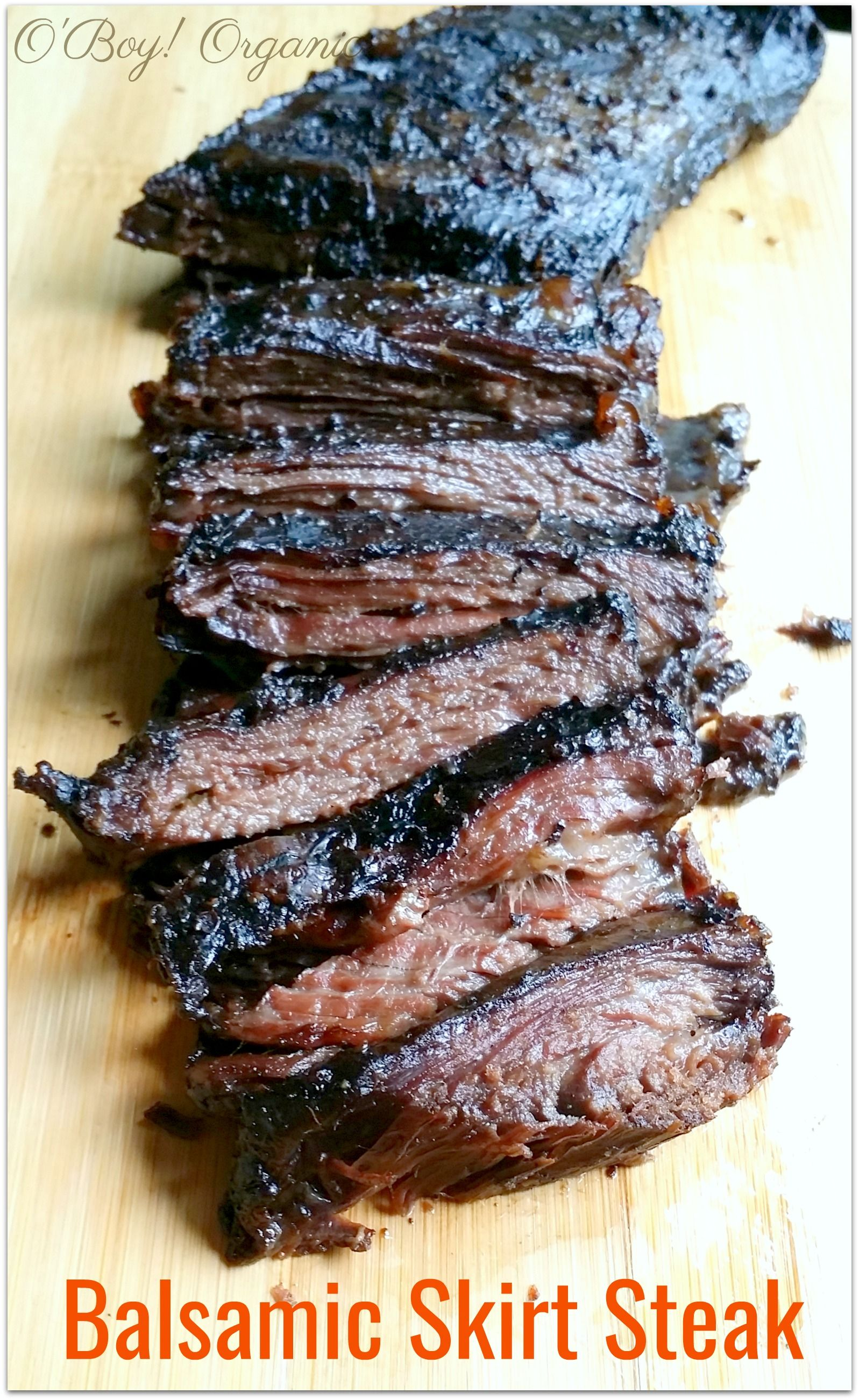 This 5 Minute balsamic skirt steak marinade will make weeknight meals easier or perfect for a dinner party. Can even be made ahead of time and freeze #marinadeforskirtsteak