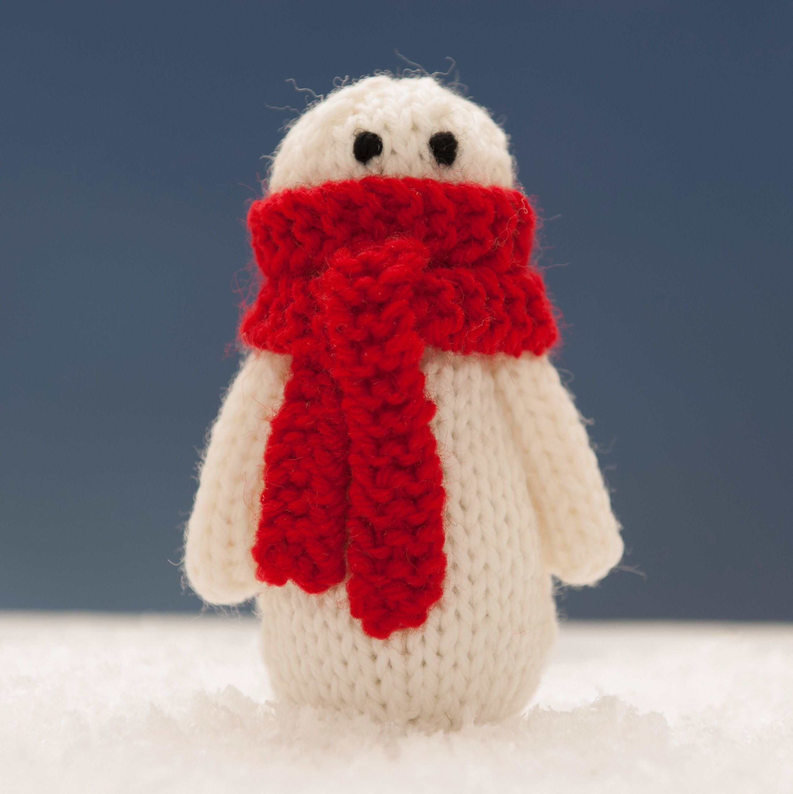Abigail from Snowman Family 1 knitting pattern. | Squibblybups ...