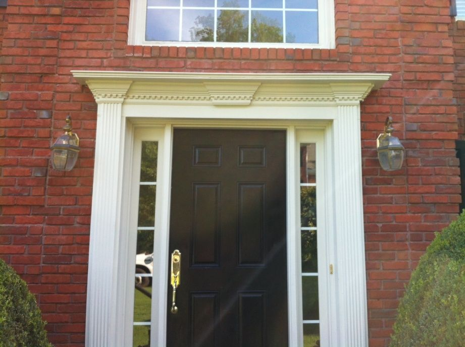Exceptional Front Door Trim Ideas Images