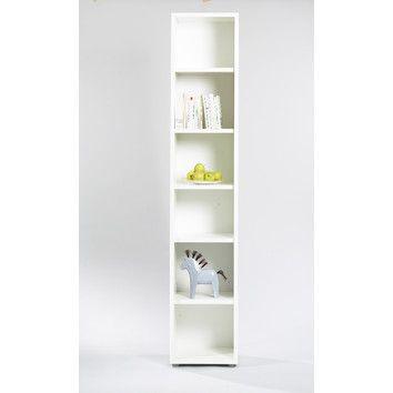 Tvilum Bocca Slim Bookcase In White