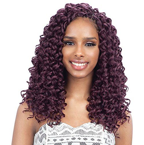 GOGO CURL 12 (1B Off Black) - Freetress Synthetic Braid Crochet Bulk Braiding Hair *** This is an Amazon Affiliate link. Continue to the product at the image link.