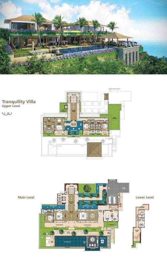 Tranquility Villa Hotel Floor Plan Mansion Floor Plan Sims House Plans